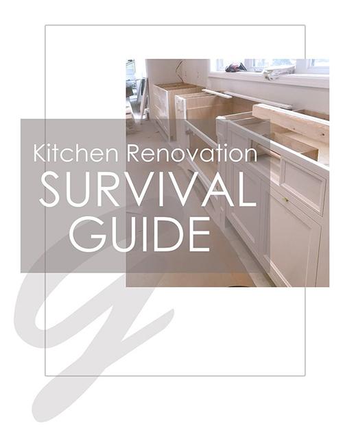 Kitchen Renovation SURVIVAL GUIDE