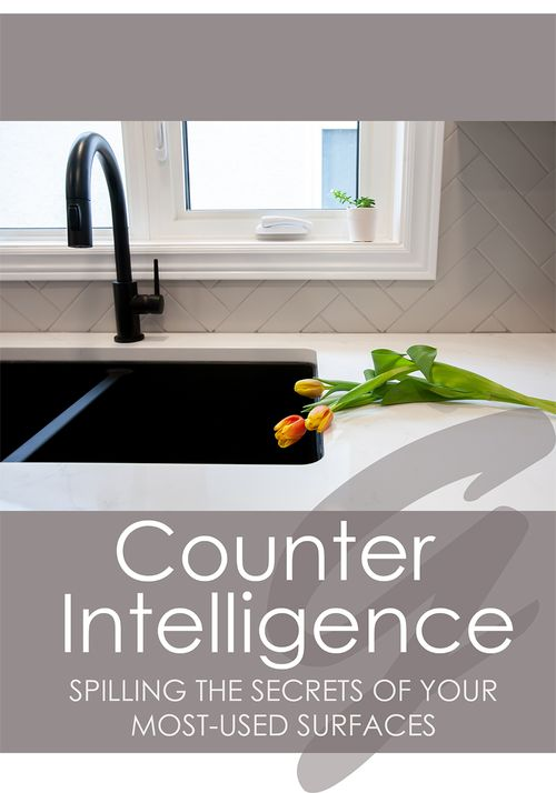 Counter Intelligence: Spilling the Secrets of your Most-Used Surfaces